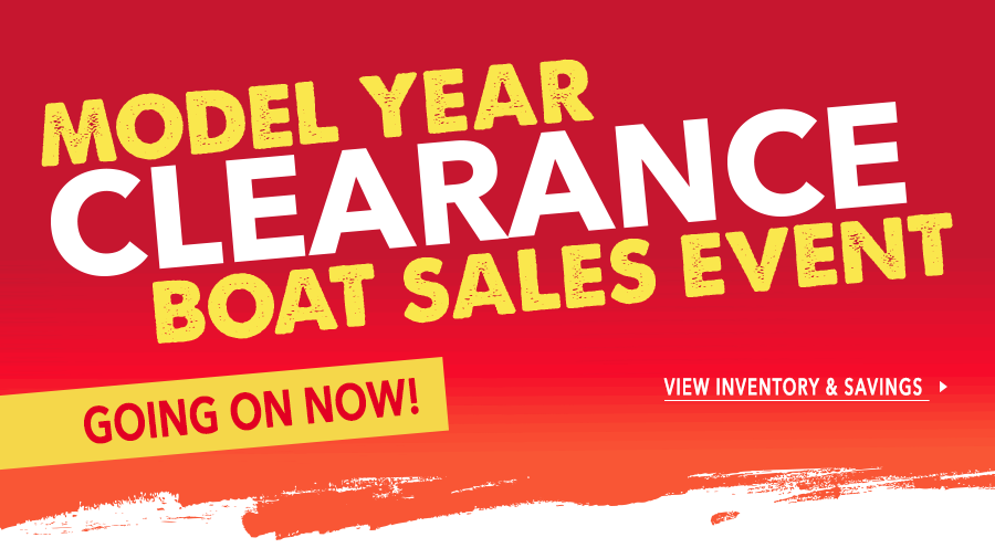 Model Year Clearance Boat Sales Event